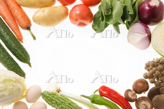 all kinds of vegetables