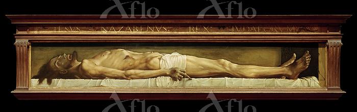 ハンス・ホルバイン「墓の中の死せるキリスト」