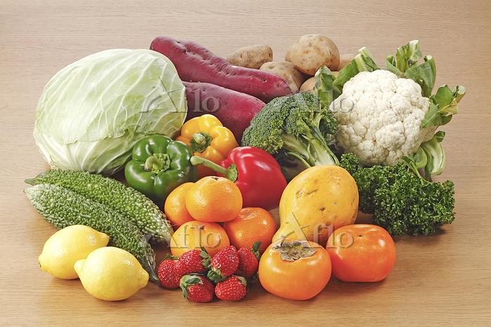 栄養素4群(ビタミン)を多く含む食材