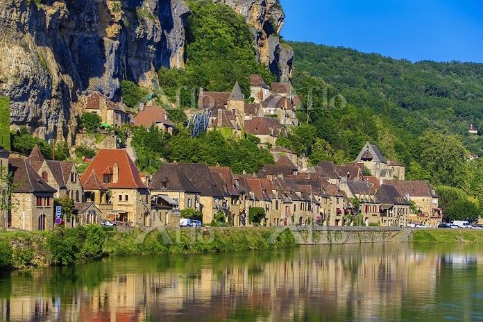 フランス ラ・ロック・ガジャック ドルドーニュ川