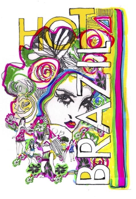 Brazilian woman design by Garr・・・