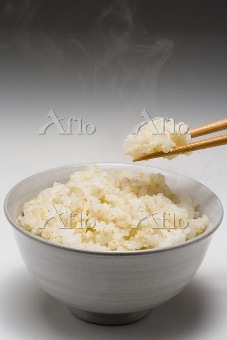もち粟入りご飯(20%)