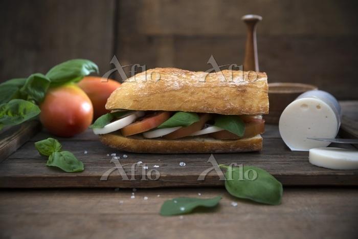バケットのサンドイッチ