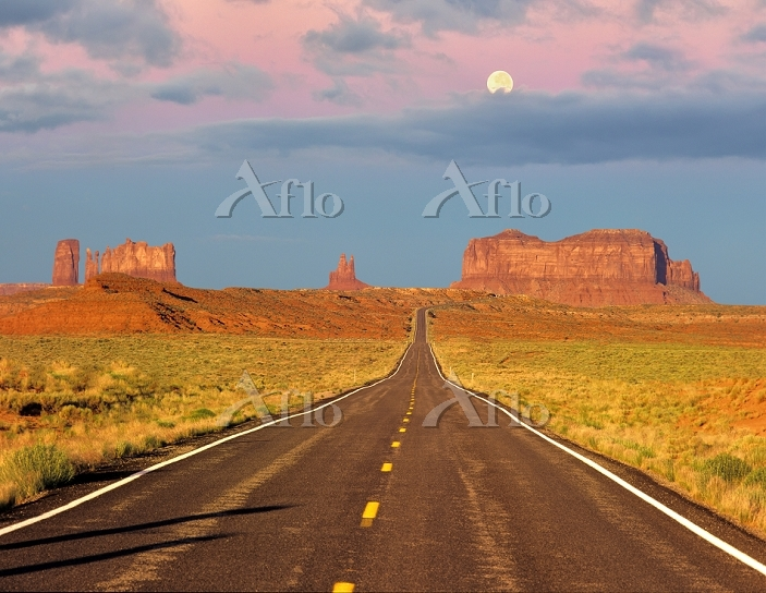 Monument Valley as seen from H・・・
