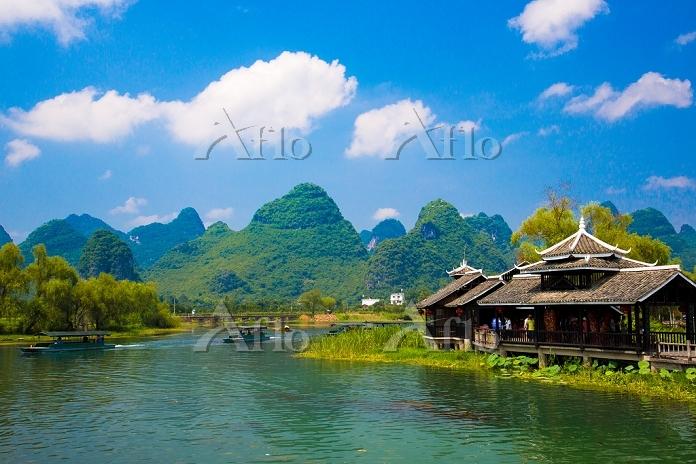 中国 広西チワン族自治区桂林市 世外桃源