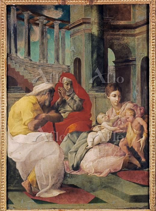 フランチェスコ・プリマティッチョ 「聖家族」