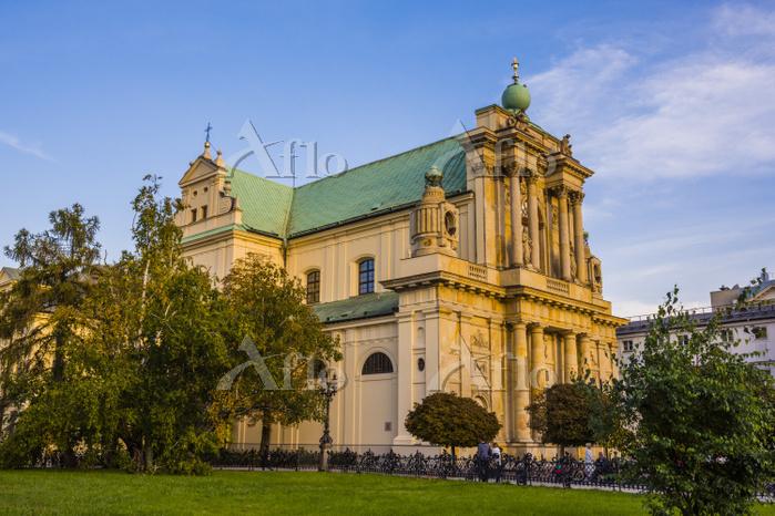ポーランド ワルシャワ 旧市街 カトリック教会