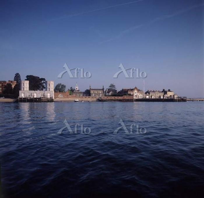 Brownsea Island shoreline from・・・