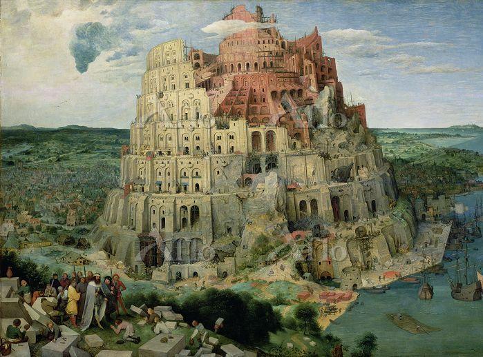 ピーテル・ブリューゲル 1世  「バベルの塔」