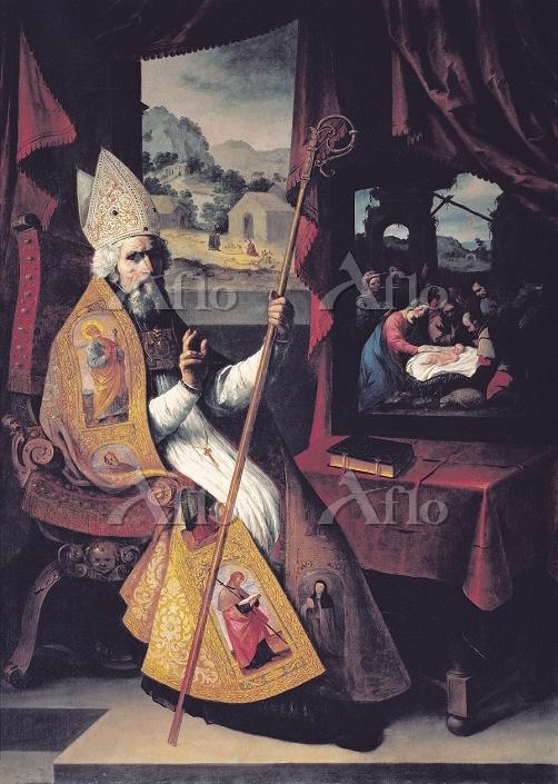 スルバラン 「ミラのニコラオスの肖像」