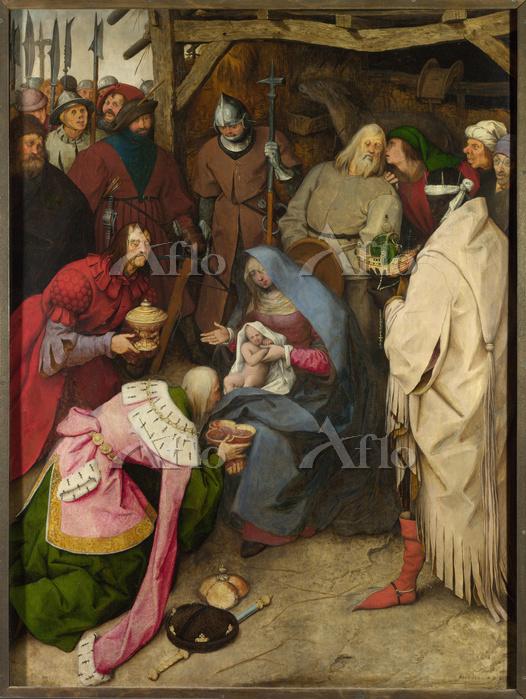 ピーテル・ブリューゲル 1世 「東方三博士の礼拝」