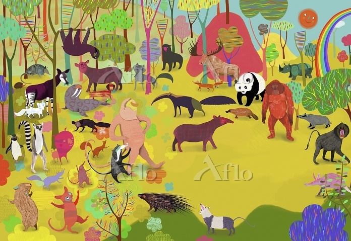 Lots of different animals in c・・・