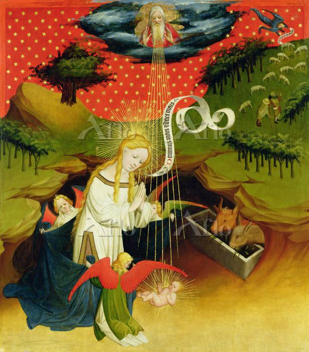 マイスター・フランケ 「キリストの降誕」