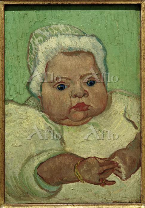 ゴッホ 「赤ん坊のマルセル・ルーラン」