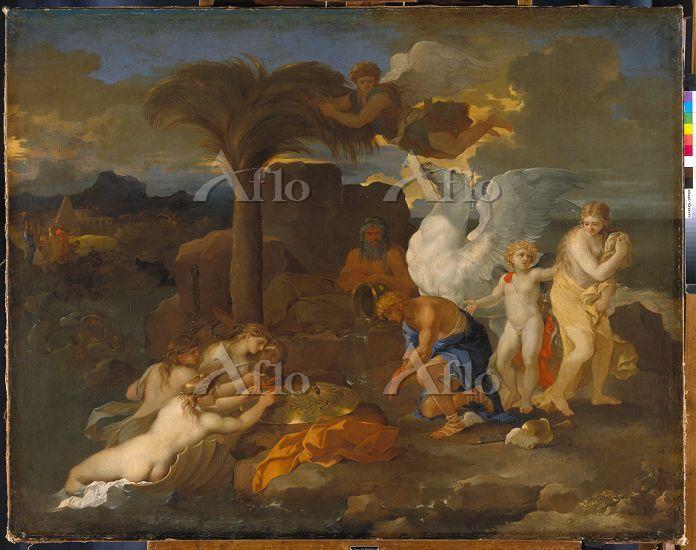 「ペルセウスにより解き放たれたアンドロメダ」