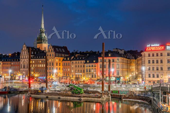 スウェーデン ストックホルム旧市街