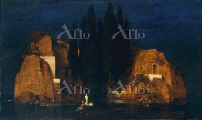 アルノルト・ベックリン 「死の島 第2バージョン」