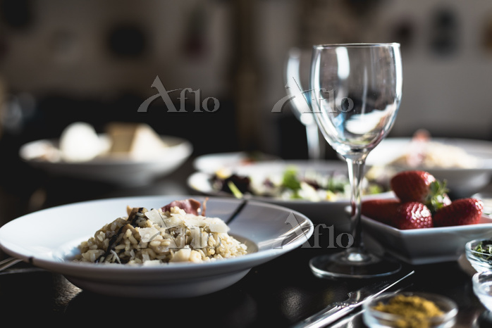 Risotto of ceps