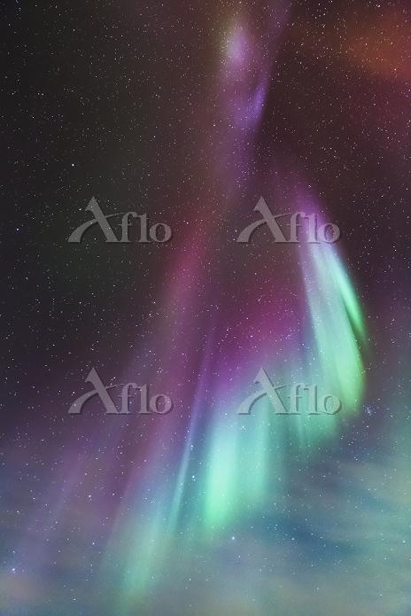 アメリカ合衆国 アラスカ オーロラ