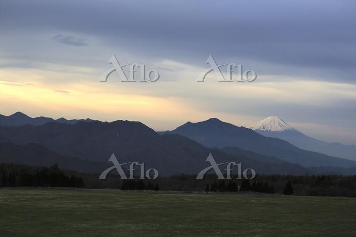 山梨県 清里高原 富士山