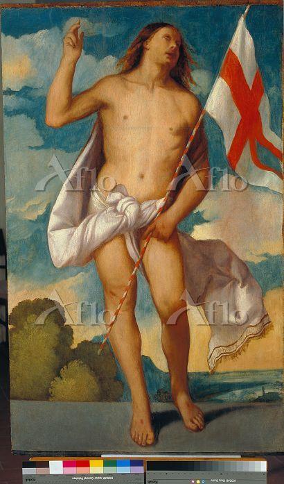 ティツィアーノ 「復活のキリスト」