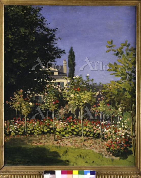 クロード・モネ 「花咲く庭」