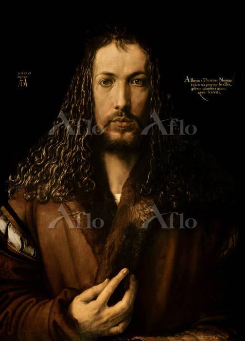 アルブレヒト・デューラー 「自画像」(1500年)