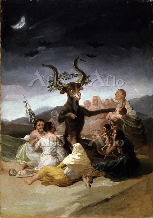ゴヤ「魔女たちの夜宴」