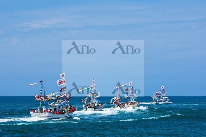 新潟県 夏の船まつり