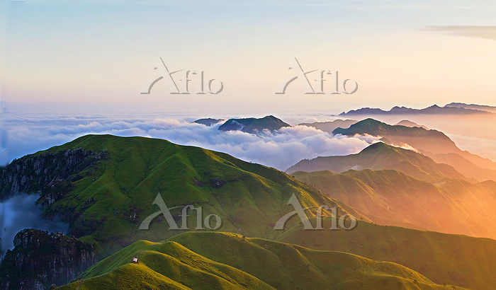 Scenery of Wugong Mountain