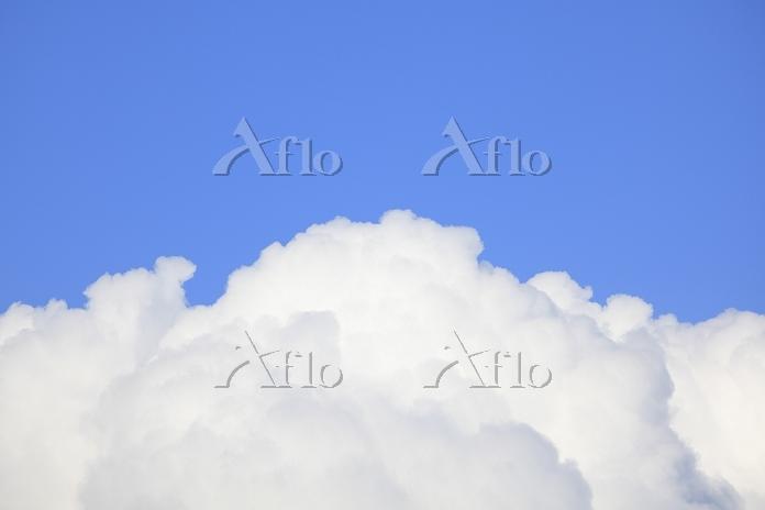 積乱雲と青空