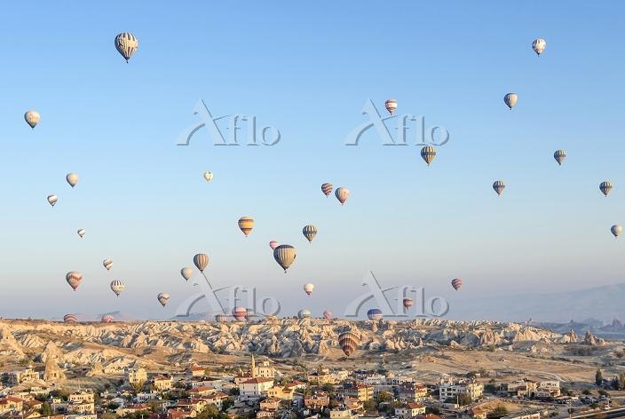 トルコ カッパドキア 気球
