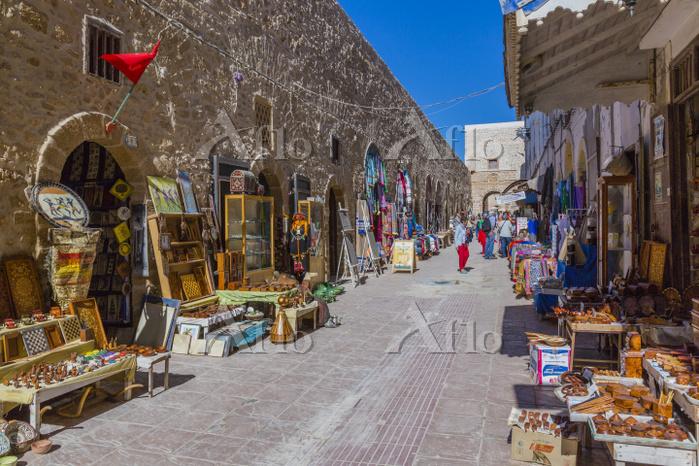 モロッコ エッサウィラの旧市街