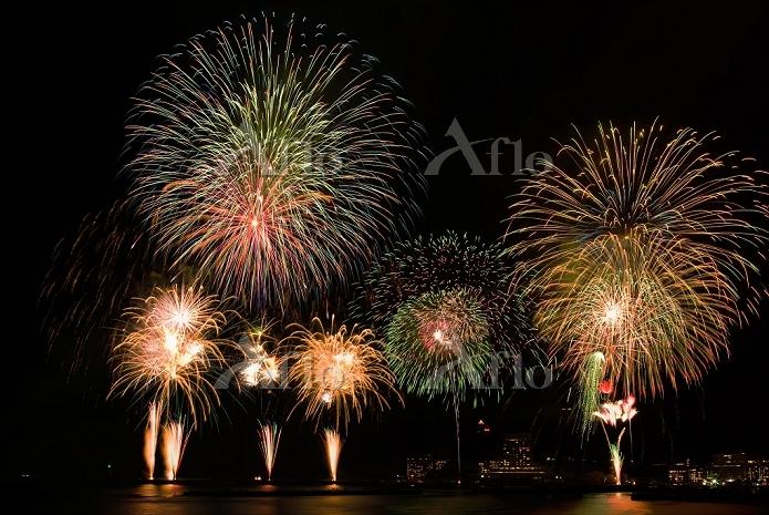 静岡県 熱海海上花火大会