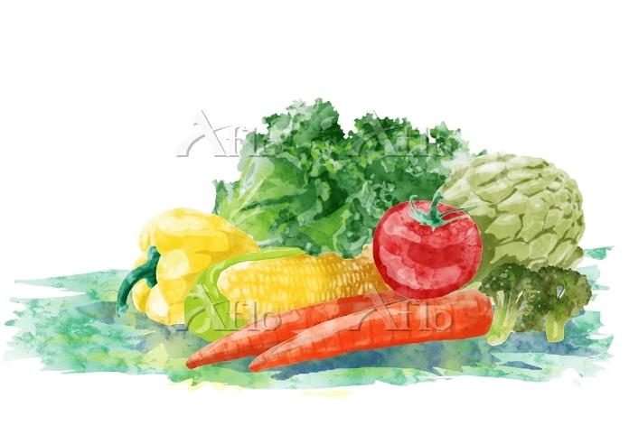 緑黄色野菜(人参・ピーマン・コーン・ブロッコリー・トマト・レ・・・