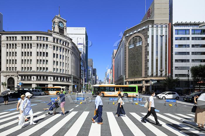 東京都 銀座4丁目交差点