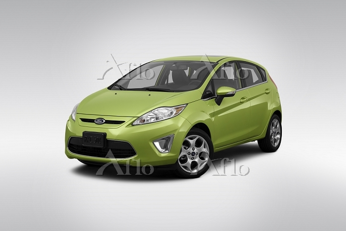 2012 Ford Fiesta SES in Green