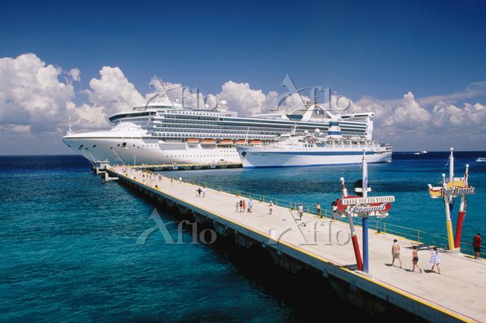 メキシコ キンタナ・ロー クルーズ船
