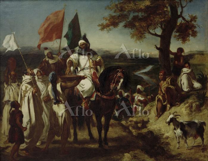 Delacroix, Eugène. 1798–1863. ・・・