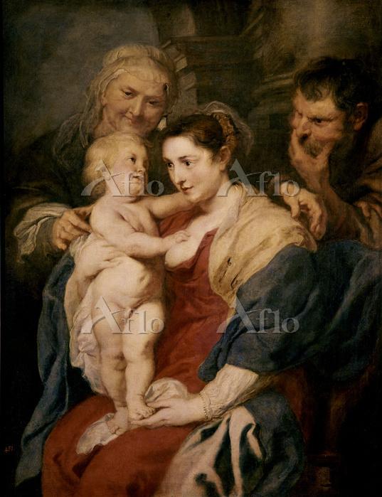 ルーベンス 「聖アンナのいる聖家族」