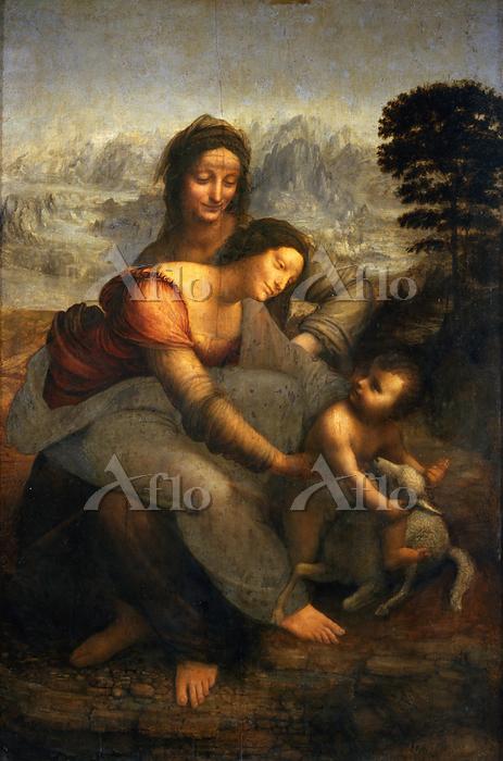 レオナルド・ダ・ヴィンチ 「聖アンナと聖母子」