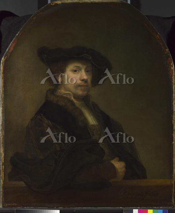 レンブラント「34歳の自画像」