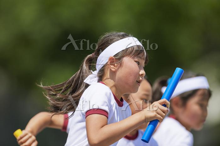 運動会 リレー競技