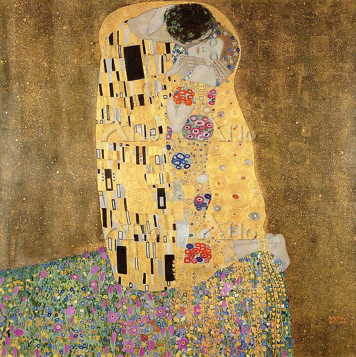 クリムト 「接吻」