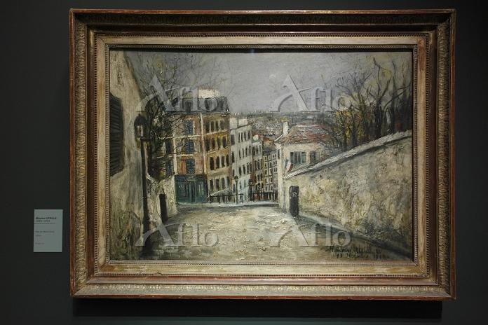 オランジュリー美術館のモーリス・ユトリロ