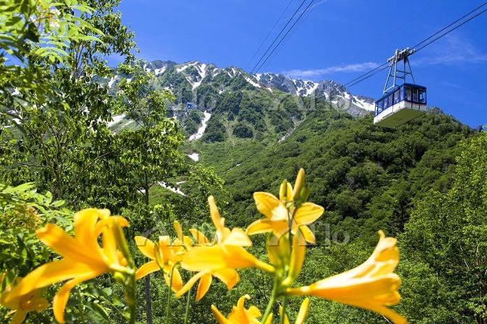 富山県 立山ロープウエー