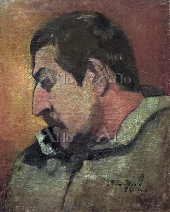ゴーギャン 「友ダニエルに捧げられた自画像」