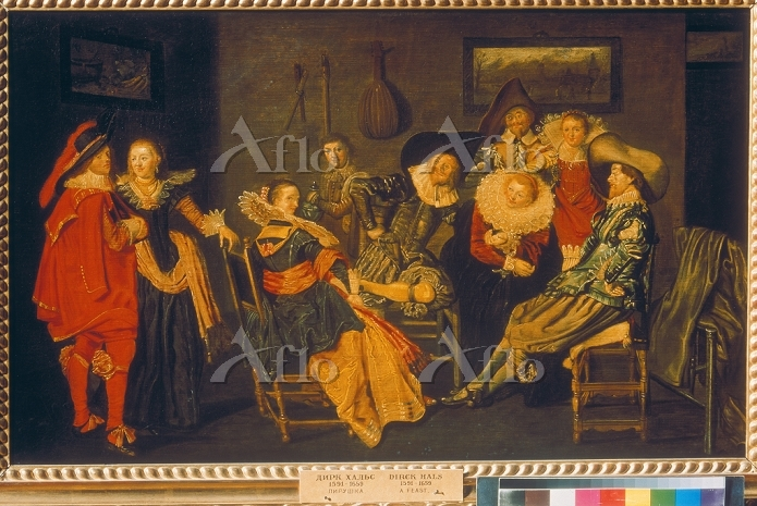 Artist:  Hals, Dirck,1591-1656・・・