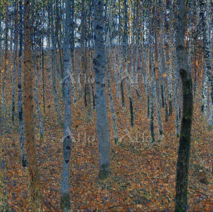 クリムト 「ブナの森Ⅰ」