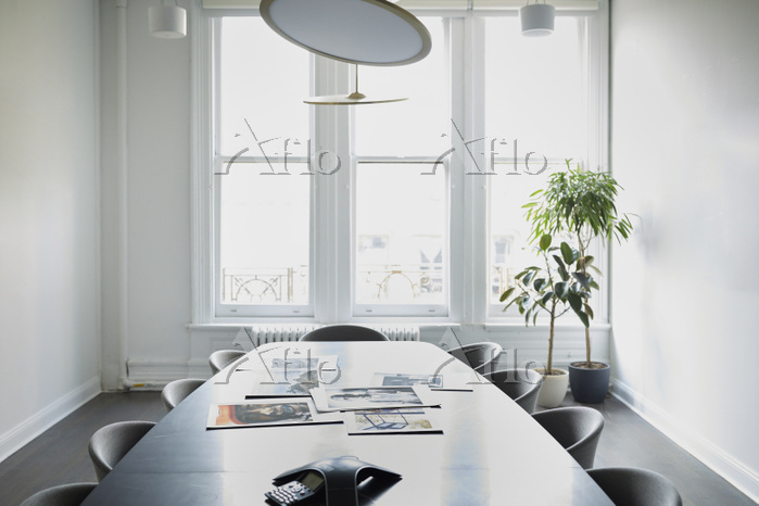 Interior of empty conference r・・・
